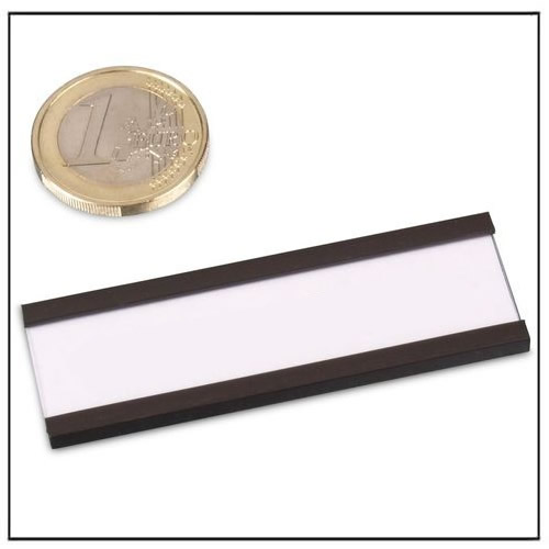 Magnetic Label Holder C-Profile 60 x 20 mm