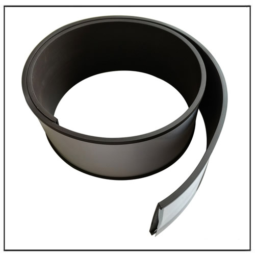 Rubber Label Magnetic Strip 80mm