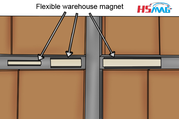 flexible warehouse magnet