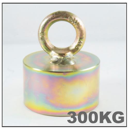 300KG Power Fishing Metal Detector Handle Hook Pot Magnet