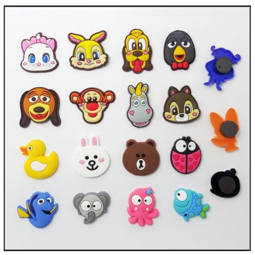 3D Soft PVC Rubber Fridge Magnets