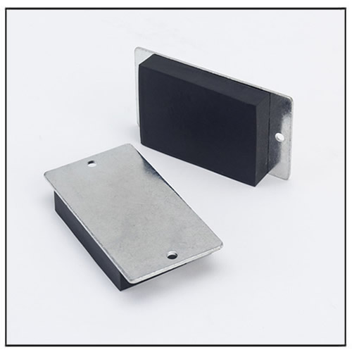 MagPad-8 Rubber Coating Throuh Hole Mag Pad