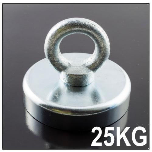 Metal Detector Treasure Handle Pot Magnet 25KG