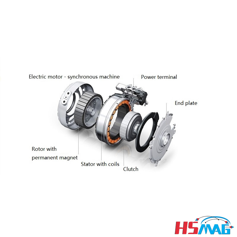 Drive Motor Magnetic Coupling Magnets By Hsmag