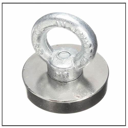 Rare Earth Neodymium Hook Eyebolt Ring Salvage Magnet