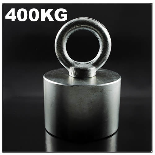 Rare Earth Salvage Hook Eyebolt Magnet 400KG