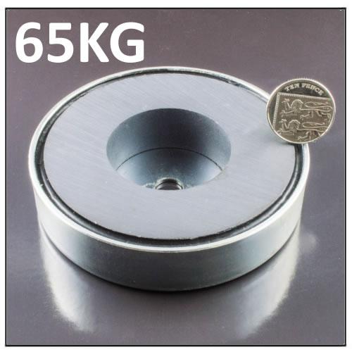Salvage Treasure Ferrite Holding Magnet 65KG
