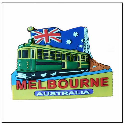 Souvenirs 3D PVC Eco friendly Soft Magnet