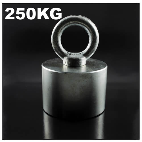 Strong Retrieving Neodymium Pot Magnet 250KG