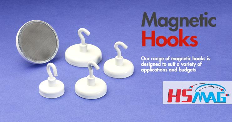 White Magnetic Hooks