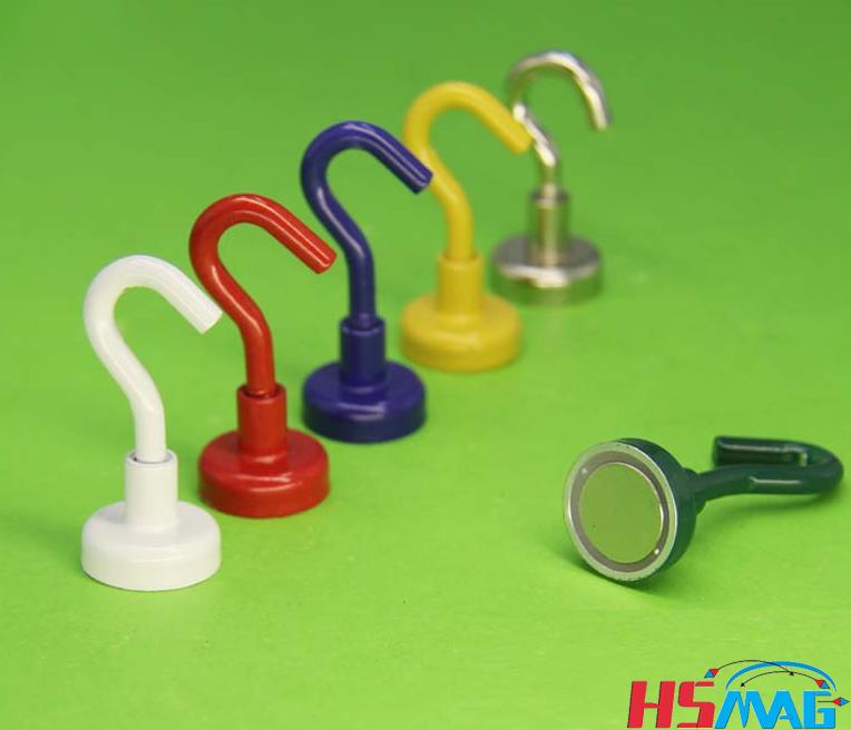 Colorful Neodymium Magnet Hook