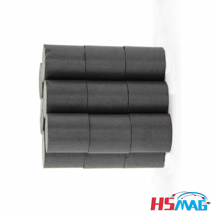 Permanent Magnet Ferrite Rod Bar Magnets By Hsmag
