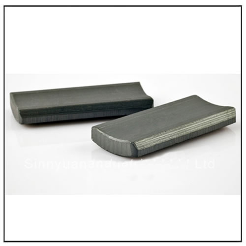 Super Strong Ferrite Arc Magnets