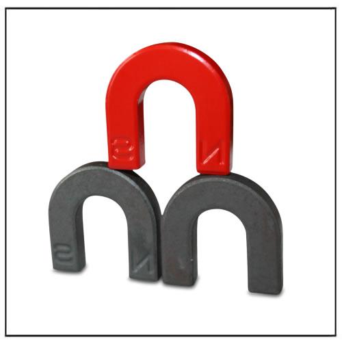 U-shaped Ferrite Magnets