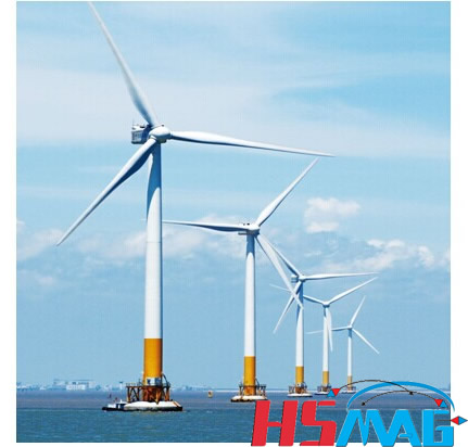 Magnet Wind Turbine Application