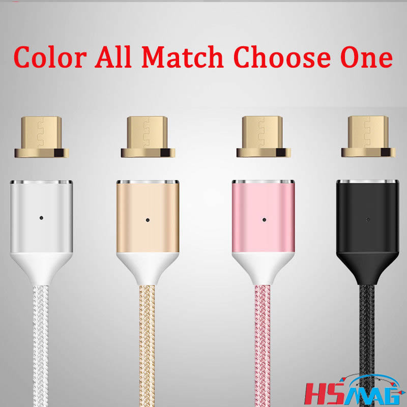 Magnetic Charging for iPhone 7 8 USB data Cable For Samasung Phone Charger