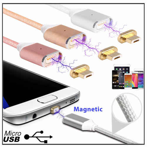 Magnetic Phone Charging Cable Android Mobile Phone