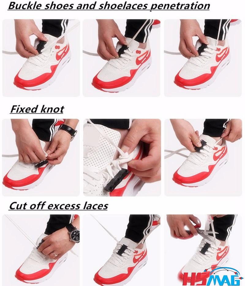 Magnetic Shoe Closures Usage