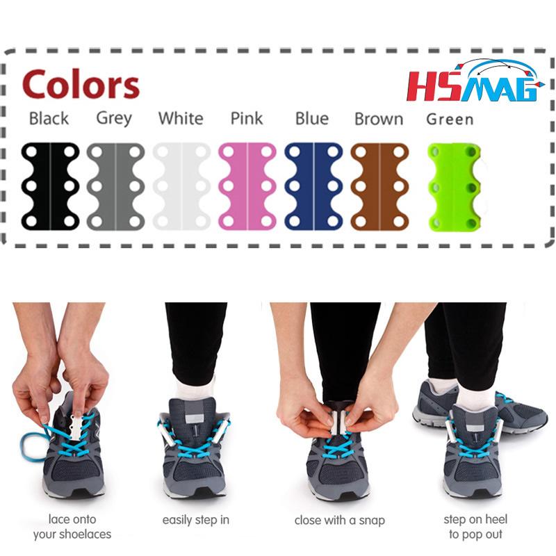 Magnetic Shoe Laces Colour