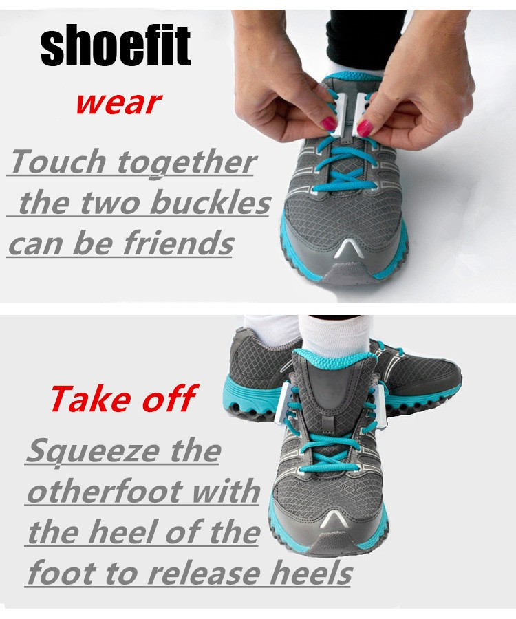 No-tie Magnetic Shoelaces Use Notes