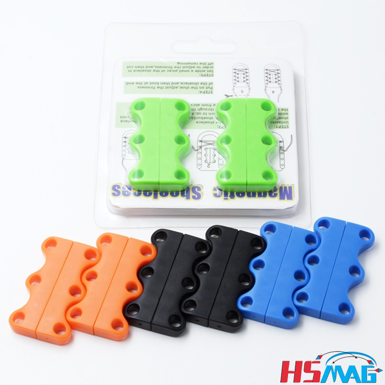 Novelty DIY Lazy Magnetic Casual Sneaker Shoe Buckles Closure No-Tie Shoelace