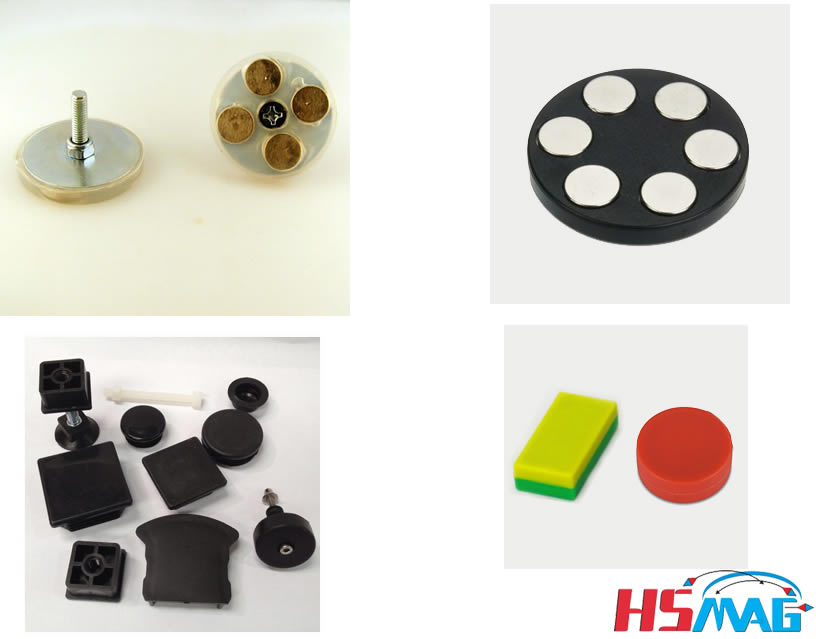 Plastic Mounting Magnets