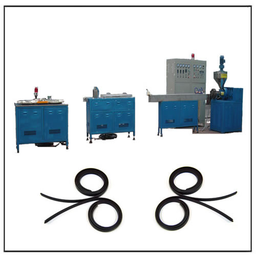 Magnet Strip Extruder