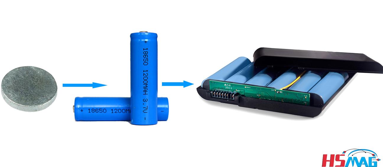 lithium Ion Li-Ion Battery Magnet