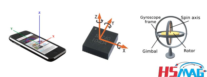 permanent magnet for Gyroscope