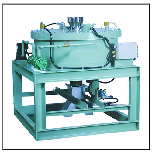 Electromagnetic Separator for Dry Powder