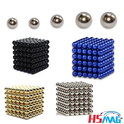 Zen Magnets Nickel Gold Plated Magnet Spheres 216 magnets