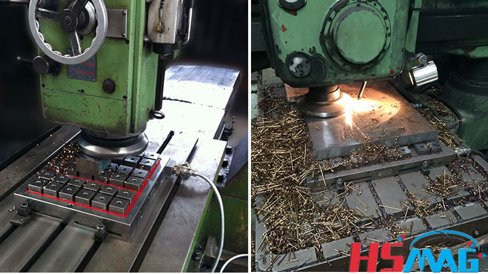 Drilling, Milling, And CNC Machining Center Electro Permanent Magnetic Chuck