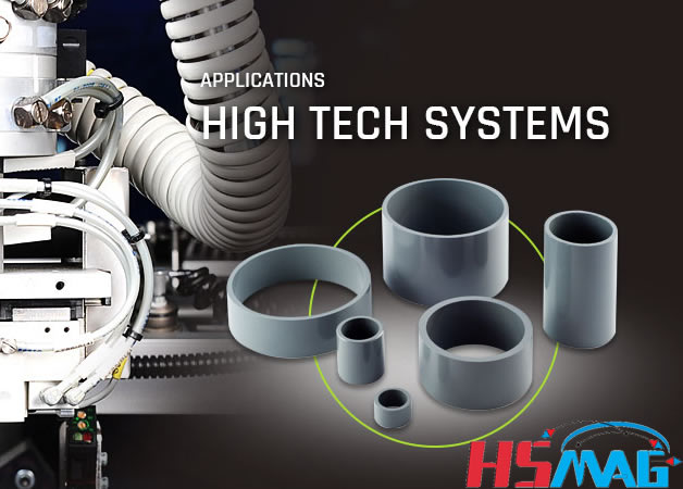 Hot Formed NdFeB Magnet applications hightech systems
