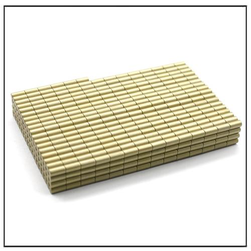 N52 Cylinder Rare Earth Neodymium Everlube Magnets