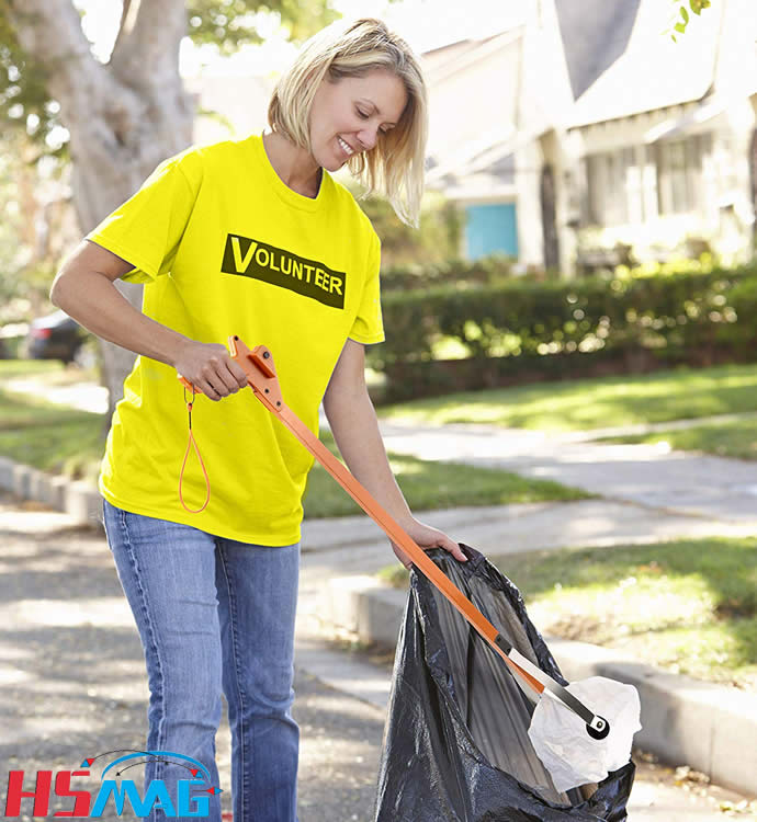 Garbage Litter Picker Folding Trash Grabber for Garden