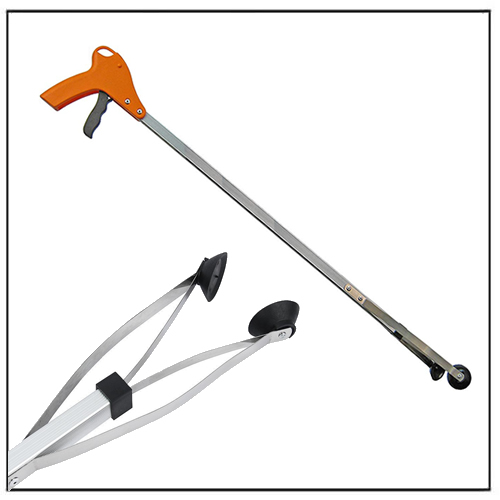 Long Handle Foldable Trash Litter Picker Grabber