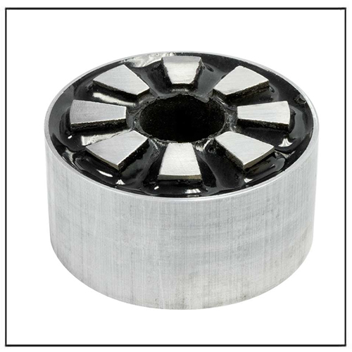 Multi-Pole AlNiCo Magnet Assemblies for Rotor