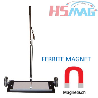 Magnetic Brooms Sweepers with ferrite magnets