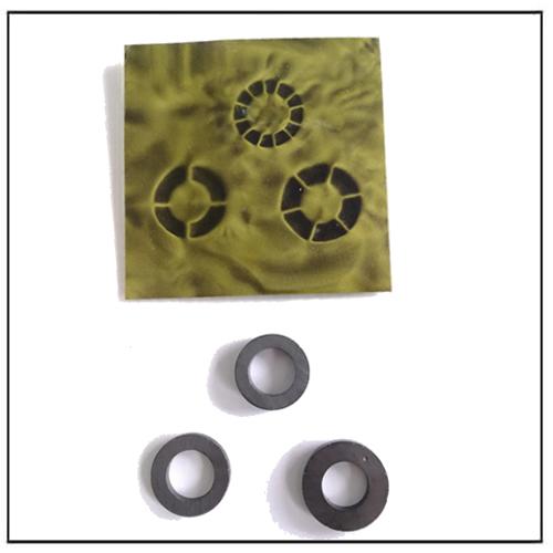 Multi-Polar Ceramic Ring Magnets