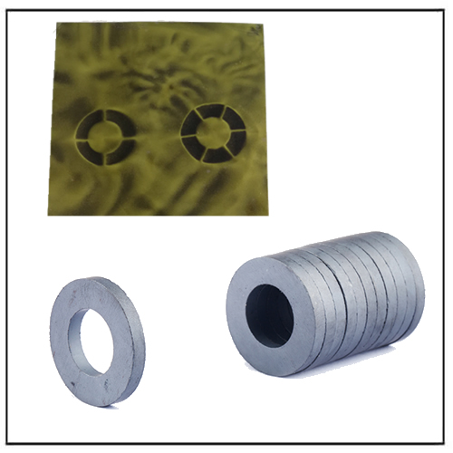 Y30 Y35 Ferrite Anisotropic Multipolar Ring Magnets