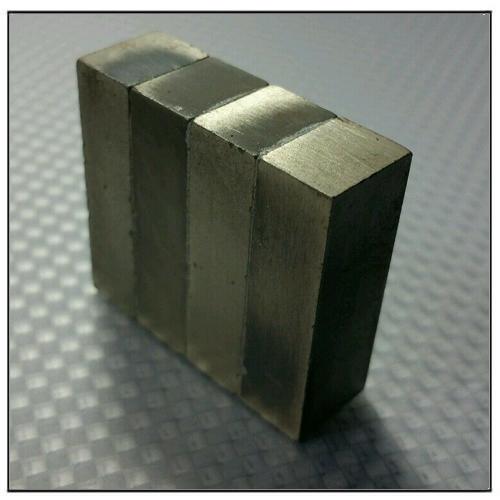 4 Blocks Laminated Neodymium Magnet