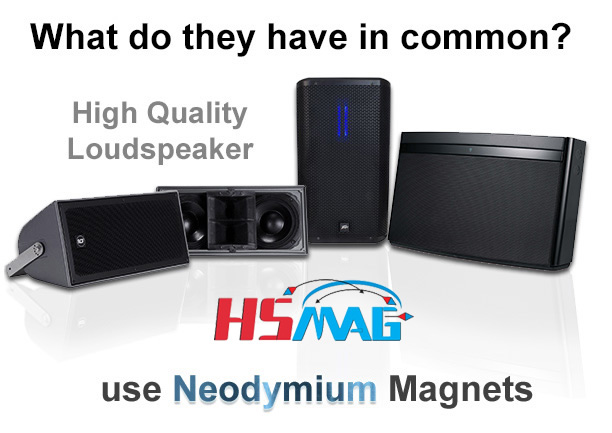 Neodymium Magnet Speakers loudspeakers