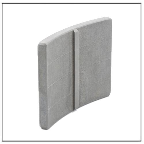 High-resistivity Sintered Laminated Magnet Arc-shape