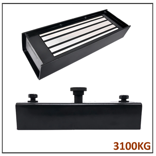 Black Epoxy Coated Powerful Shuttering Magnet for Concrete Wall Forms 3100KG