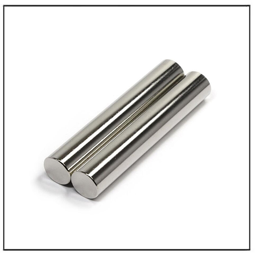 N35 Lowest Price Neodymium Rod Cylinder Magnet D10x50mm