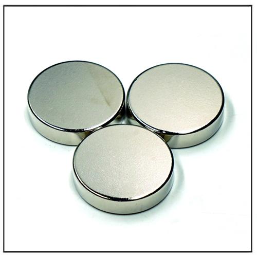 Round Neodymium Iron Boron N42SH Magnets
