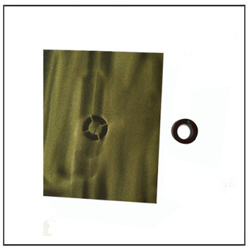 4-pole Magnetized Ferrite Ring Water Meter Magnet