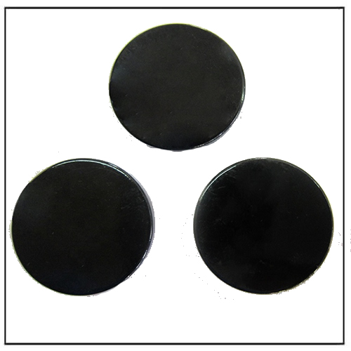 Black Epoxy Coated Round Disc NIB Nd-Fe-B Magnets