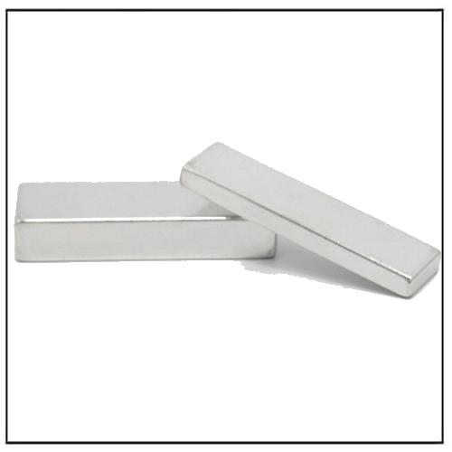 Block Shaped Strong Individual Magnets
