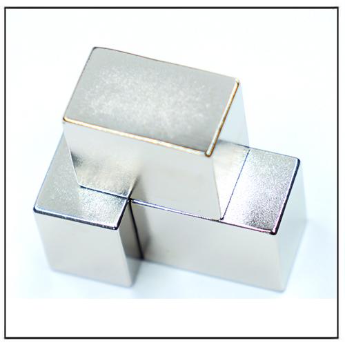 Excellent Magnetic Technical Block Neodymium-Iron-Boron Magnets N40H